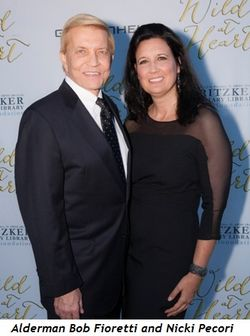 7 - Alderman Bob Fioretti and Nicki Pecori