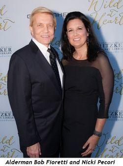 7 - Alderman Bob Fioretti and Nicki Pecori