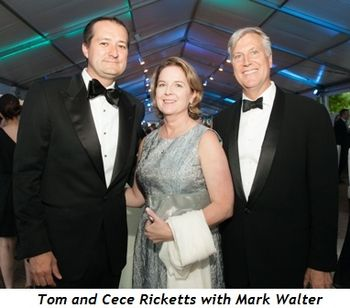 9 - Tom and Cece Ricketts and Mark Walter