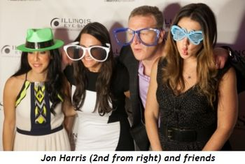 5 - Jon Harris (2nd from right) and friends