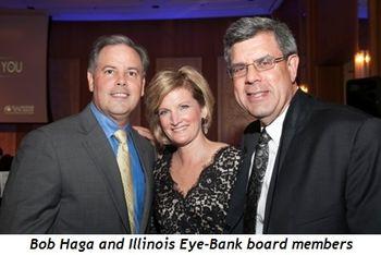 9 - Bob Haga and Illinois Eye-Bank board members Maureen Haga and Peter Wroblewski