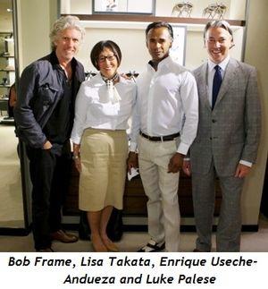 1 - Bob Frame, Lisa Takata, Enrique Useche-Andueza, Luke Palese