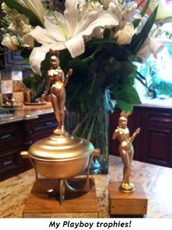 Playboy trophies