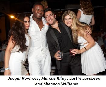 3 - Jacqui Rovirosa, Marcus Riley, Justin Jacobson and Shannon Williams