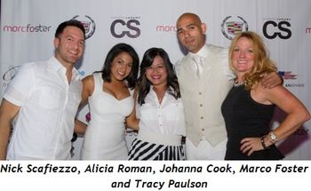5 - Nick Scafiezzo, Alicia Roman, Johanna Cook, Marco Foster and Tracy Paulson