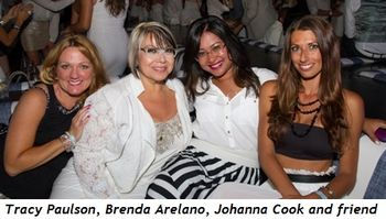 9 - Tracy Paulson, Brenda Arelano, Johanna Cook and friend