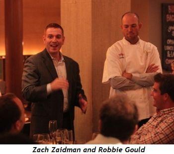 Zach Zaidman, Robbie Gould