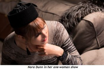 5 - Nora Dunn in her one woman show