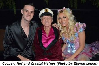 2 - Cooper, Hef and Crystal Hefner (Photo by Elayne Lodge)