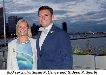 1 - BLU co-chairs Gideon P. Searle and Susan Patience