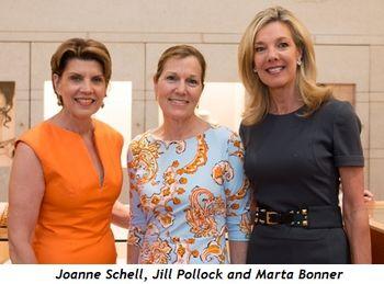 Joanne Schell, Jill Pollock and Marta Bonner