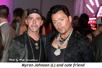 12 - Myron Johnson (L) and cute friend
