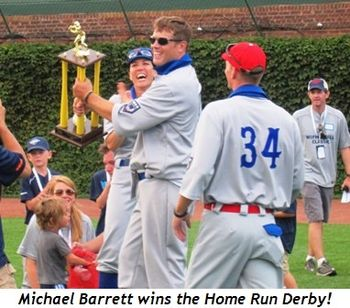 5 - Michael Barrett wins Home Run Derby!