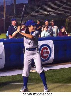 11 - Sarah Wood at bat
