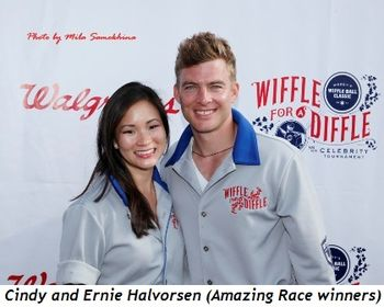 20 - Cindy and Ernie Halvorsen (Amazing Race winners)