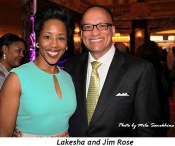 Lakesha and Jim Rose (Photo by Mila Samokhina)