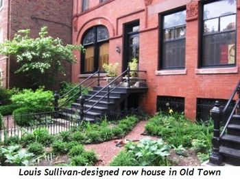 12 - Louis Sullivan designed row house in Old Town