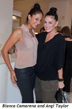 2 - Bianca Camarena and Angi Taylor