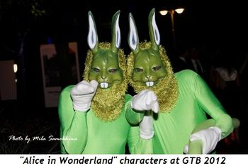 10 - Alice in Wonderland characters at GTB 2012