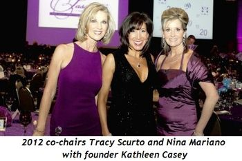 3 - 2012 co-chairs Tracy Scurto and Nina Mariano with founder Kathleen Casey