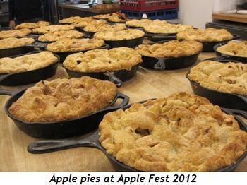 2 - Apple pies at Apple Fest 2012