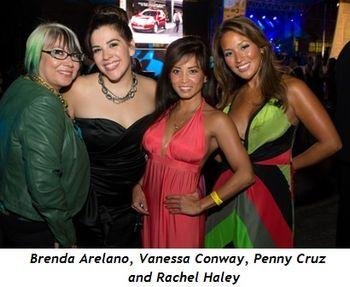 5 - Brenda Arelano, Vanessa Conway, Penny Cruz, Rachel Haley