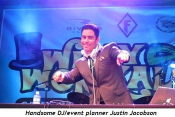 11 - Handsome DJ-event planner Justin Jacobson