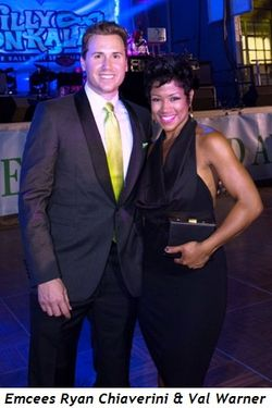 6 - Emcees Ryan Chiaverini and Val Warner