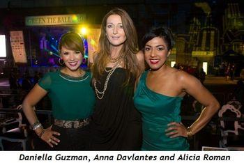 7 - Daniella Guzman, Anna Davlantes and Alicia Roman