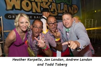 8 - Heather Korpella, Jon Landan, Andrew Landan, Todd Toberg