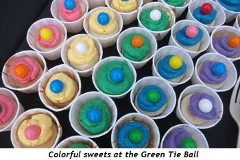 9 - Colorful sweets at the Green Tie Ball
