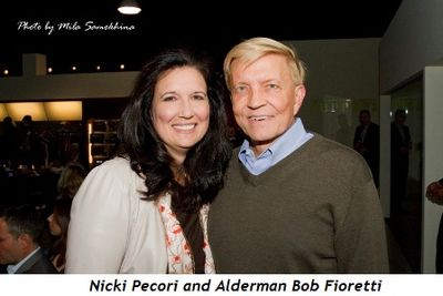 5 - Nicki Pecori and Alderman Bob Fioretti