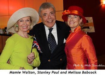 6 - Mamie Walton, Stanley Paul and Melissa Babcock