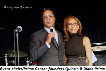 1 - Event chairs-Primo Center founders Quintin and Diane Primo