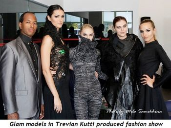 16 - Glam models in Trevian Kutti produced fashion show