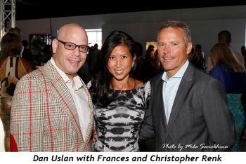 20 - Dan Uslan, Frances and Christopher Renk