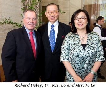 1 - Richard Daley, Dr. K.S. Lo and Mrs. F. Lo