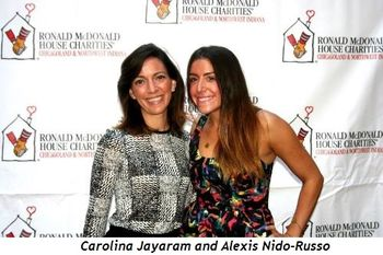 Carolina Jayaram and Alexis Nido-Russo