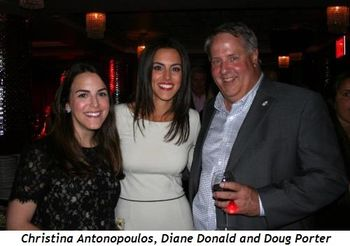 Christina Antonopoulos, Diane Donald, and Doug Porter