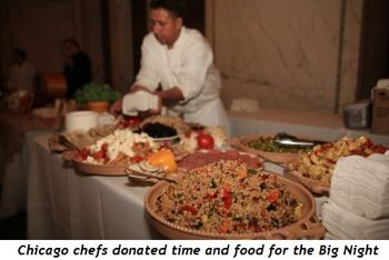 7 - Chicago chefs donated time and food for the Big Night
