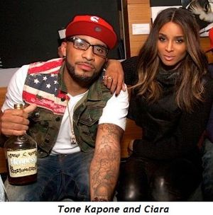 Tone Kapone and Ciara