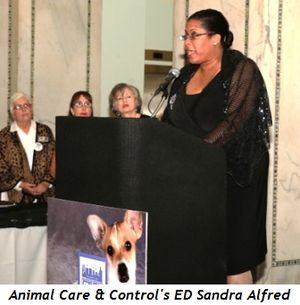 4 - Animal Care & Control's ED Sandra Alfred