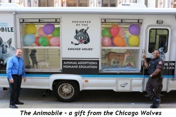 5 - The Animobile, a gift from the Chicago Wolves
