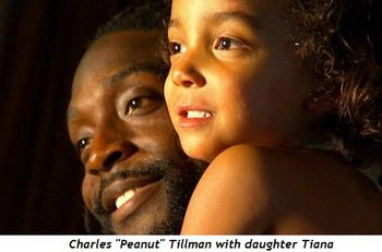 Charles Peanut Tillman with daughter Tiana