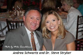 Andrea Schwartz and Dr. Steve Stryker
