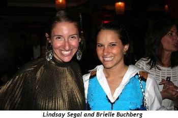 Lindsay Segal and Brielle Buchberg