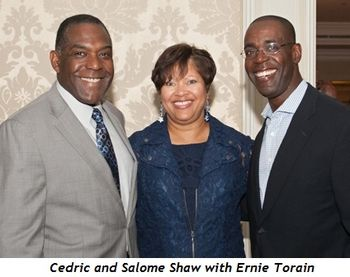 6 - Cedric and Salome Shaw and Ernie Torain