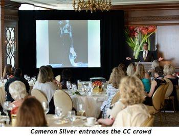 4 - Cameron Silver entrances the CC crowd