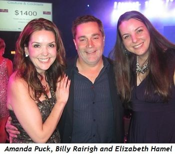 8 - Amanda Puck, Billy Rairigh and Elizabeth Hamel