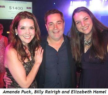 8 - Amanda Puck, Billy Rairigh and Elizabeth Hamel